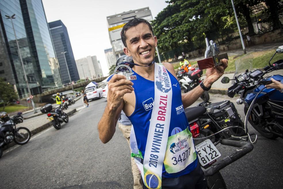 José Eraldo de Lima venceu a prova brasileira no ano passado e, como prêmio, vai disputar a deste ano em Munique, na Alemanha — Foto: Divulgação/Fabio Piva