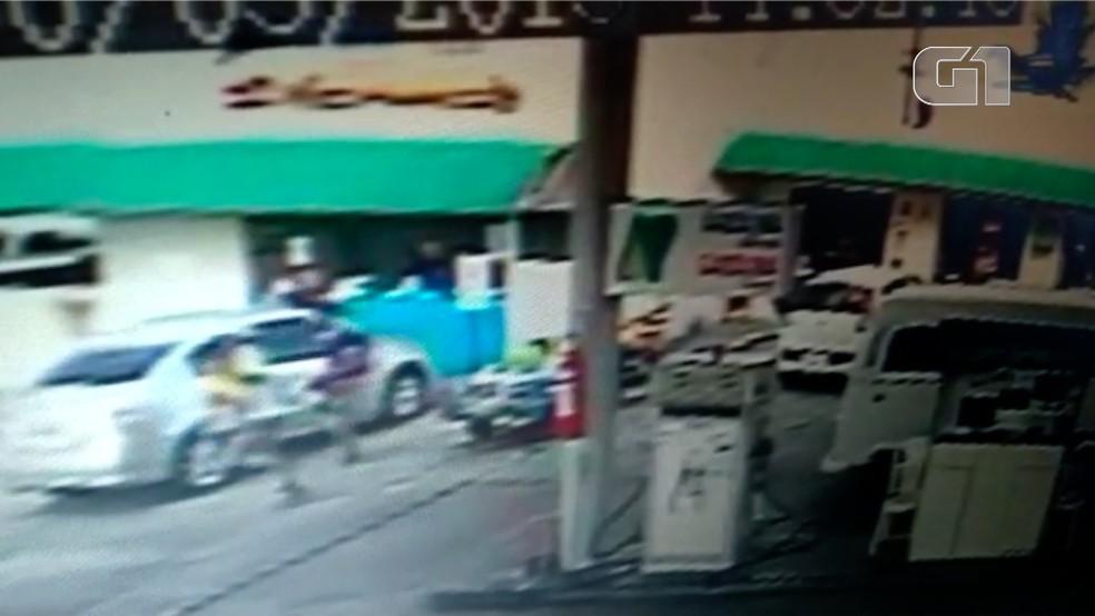Crime aconteceu no bairro Cidade da Esperança, em Natal — Foto: Reprodução