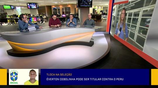 """""""Tloca"""" na Seleção: Redação debate possível entrada de Everton Cebolinha no time titular"""