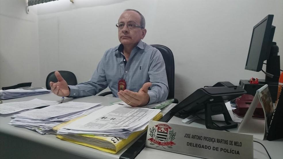 Delegado de Votorantim abriu inquérito policial para investigar as causas da morte do holandês — Foto: Natália de Oliveira/G1