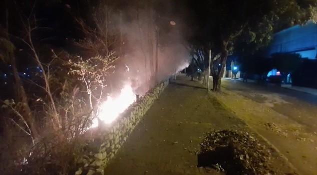 Incêndio atinge o Morro da Luz, área verde localizada no Centro de Cuiabá
