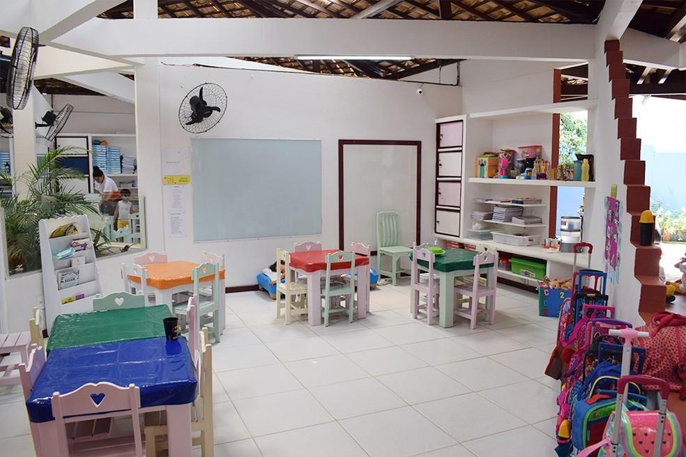 Sala de aula da educação infantil — Foto: Ascom NE