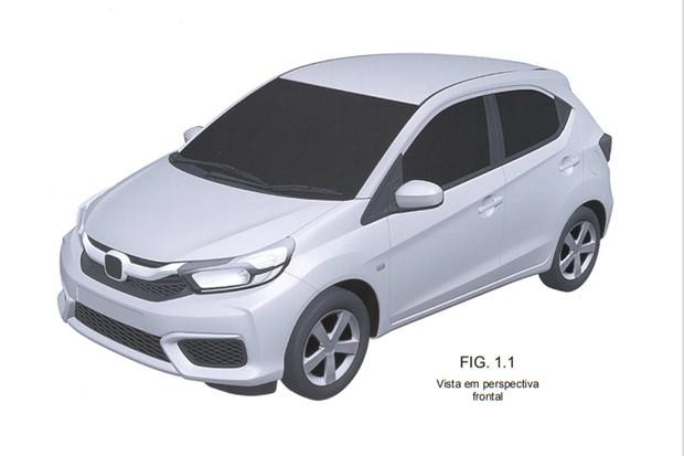 Honda Brio é um facelift muito extenso do primeiro modelo (Foto: Reprodução)