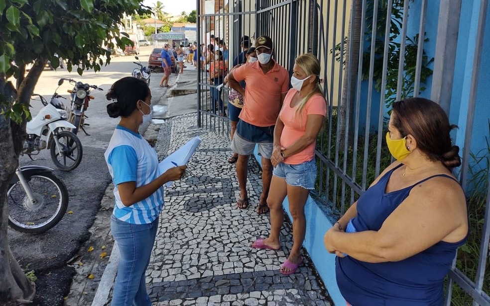 Feira livre terá fiscalização reforçada por causa da Covid-19 — Foto: SES/Cedro de São João