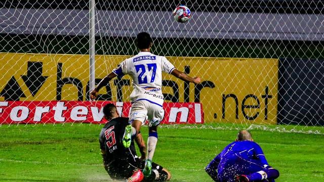 CSA x Vasco. no Rei Pelé; gol de Gabriel