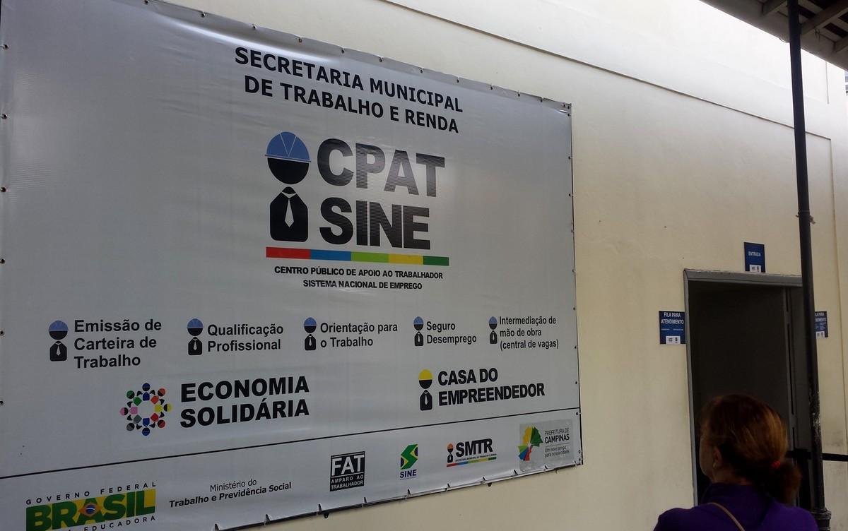 CPAT de Campinas tem 81 vagas de emprego para sete cidades da região