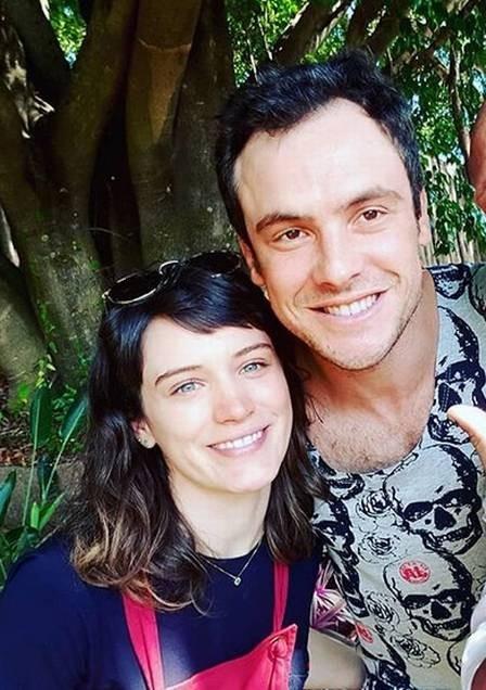 Bianca Bin e Sergio Guizé (Foto: Reprodução)