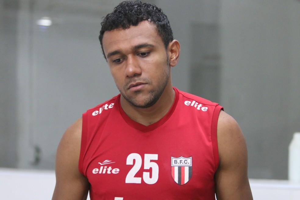 Ednei durante passagem pelo Botafogo-SP  — Foto: Rogério Moroti/Ag. Botafogo