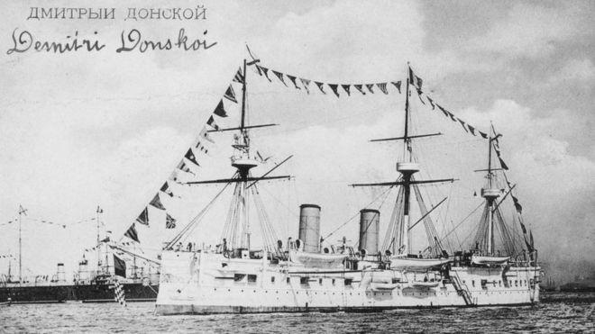 Caçadores de tesouro passaram décadas procurando navio naufragado (Foto: Getty Images via BBC)