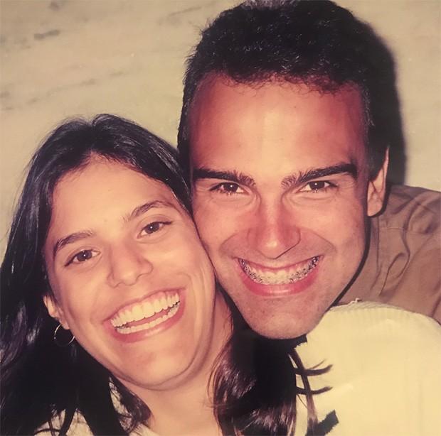 Tadeu Schmidt e a mulher, Ana Cristina Schmidt (Foto: Reprodução/Instagram)