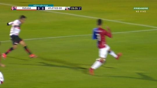 Veja os melhores momentos de Paraná 0 x 0 Atlético-GO pela 17ª rodada da Série B