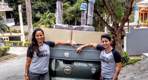 Carreto das Minas faz entregas para o público feminino e LGBT