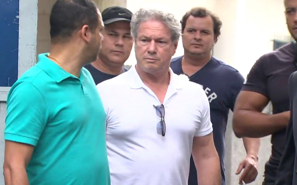 Empresário Jacob Barata Filho deixa cadeia pública no Rio (Foto: Reprodução / GloboNews)