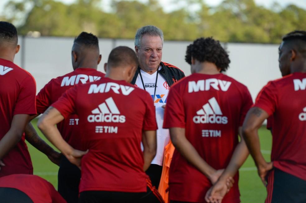 Abel Braga, Flamengo â?? Foto: Alexandre Vidal/Flamengo