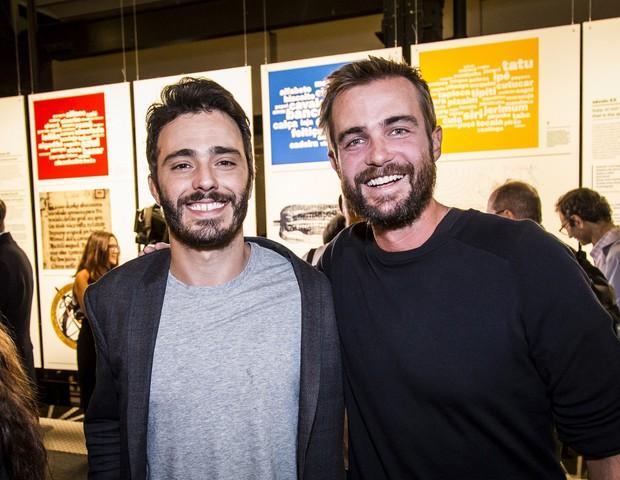 Thiago Rodrigues e Max Fercondini  (Foto: Hermes de Paula/Fundação EDP)