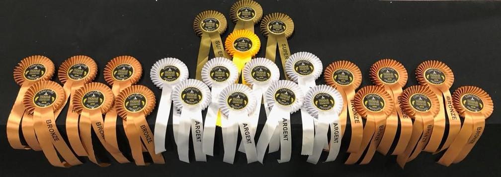 Serra da Canastra ganhou 24 medalhas no concurso — Foto: Divulgação Aprocan