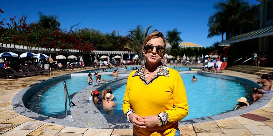 Magda Mofatto é dona em Caldas Novas, Goiás, de negócios milionários, que incluem parques temáticos, 11 condomínios, dois hotéis e uma construtora (Foto: JORGE WILLIAM/AGÊNCIA O GLOBO)