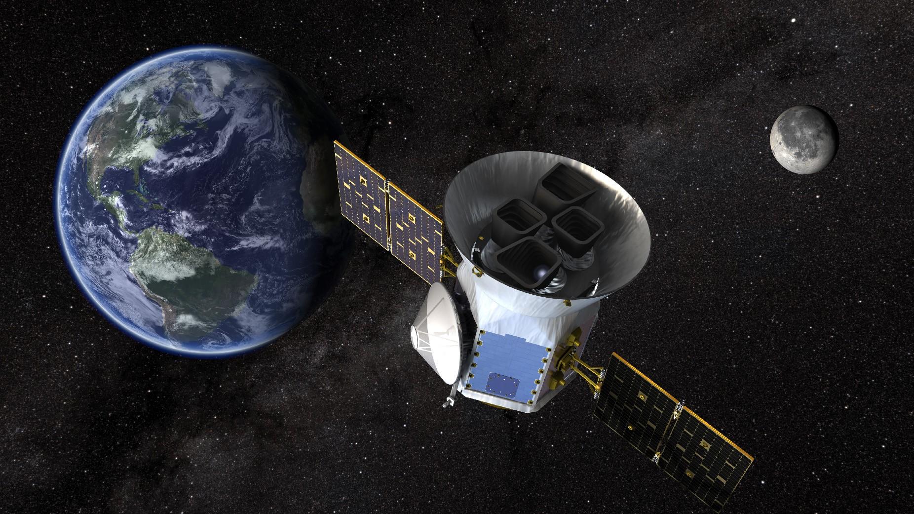 Satélite TESS vai monitorar mais de 200 mil estrelas próximas e brilhantes à procura de exoplanetas (Foto: NASA / Goddard Space Flight Center)