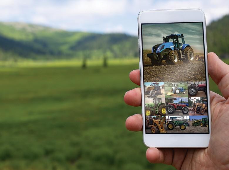 Feirão Online - Oferta de maquinários, veículos e até insumos agropecuários ganha espaço no mundo virtual e atrai investidores (Foto: Divulgação)