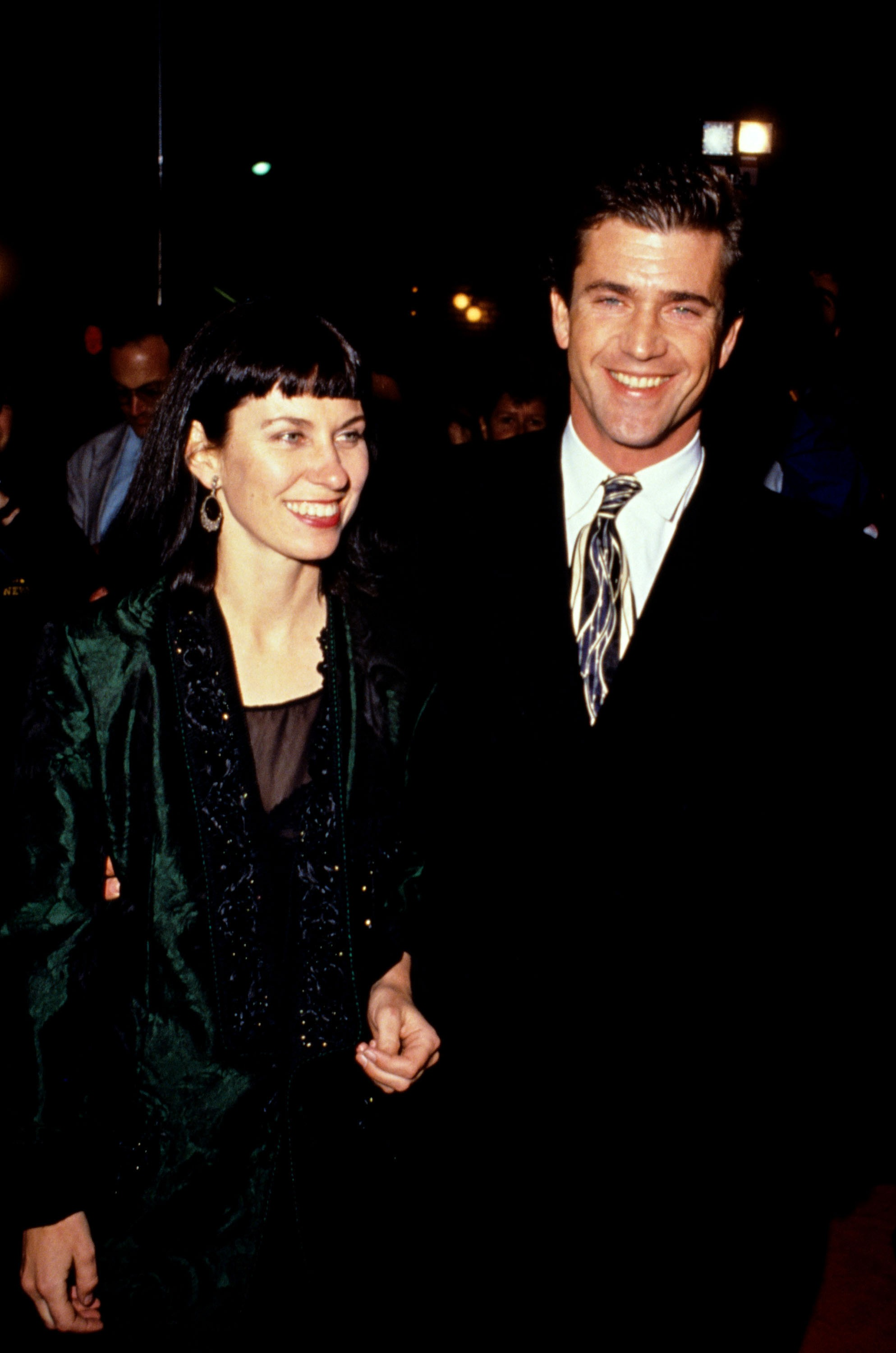 Robyn Moore e Mel Gibson (Foto: Getty Images)