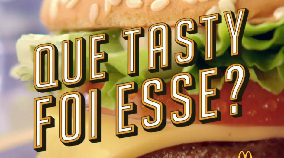 #QueTiroFoiEsse? é a nova campanha do McDonald's para lançamento de lanches (Foto: Divulgação)