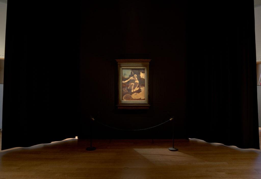 Da Vinci deixou digitais em quadro inacabado, diz curadora de exposição (Foto: Divulgação)