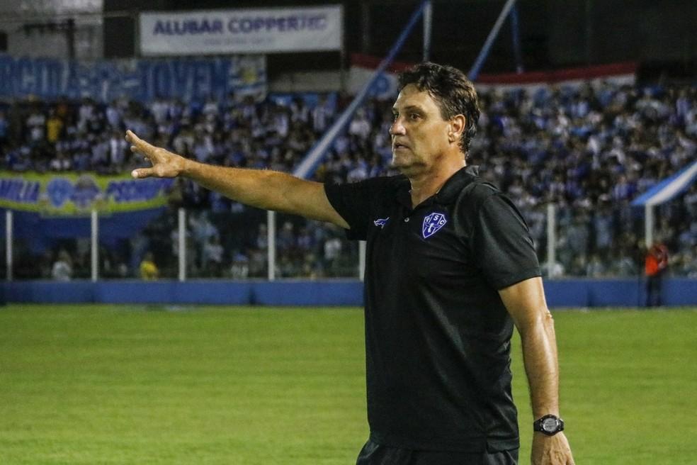João Brigatti, novo técnico do Sampaio — Foto: Jorge Luiz/Ascom Paysandu