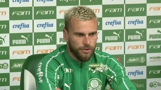 Lucas Lima vê evolução em seu futebol e diz que no Palmeiras joga mais sem a bola