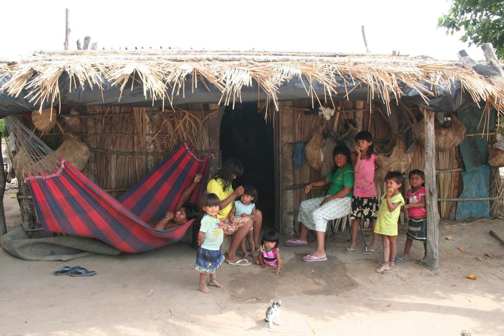 Terra Indígena Marãiwatsédé, em Mato Grosso — Foto: Cimi/Arquivo