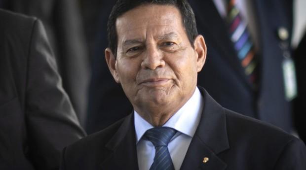 O vice-presidente do Brasil, Hamilton Mourão (Foto: Agência Brasil)