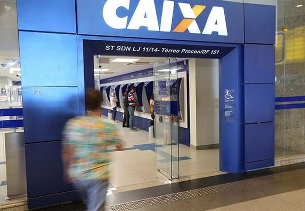 Agência da Caixa (Foto: Marcelo Camargo/Agência Brasil)