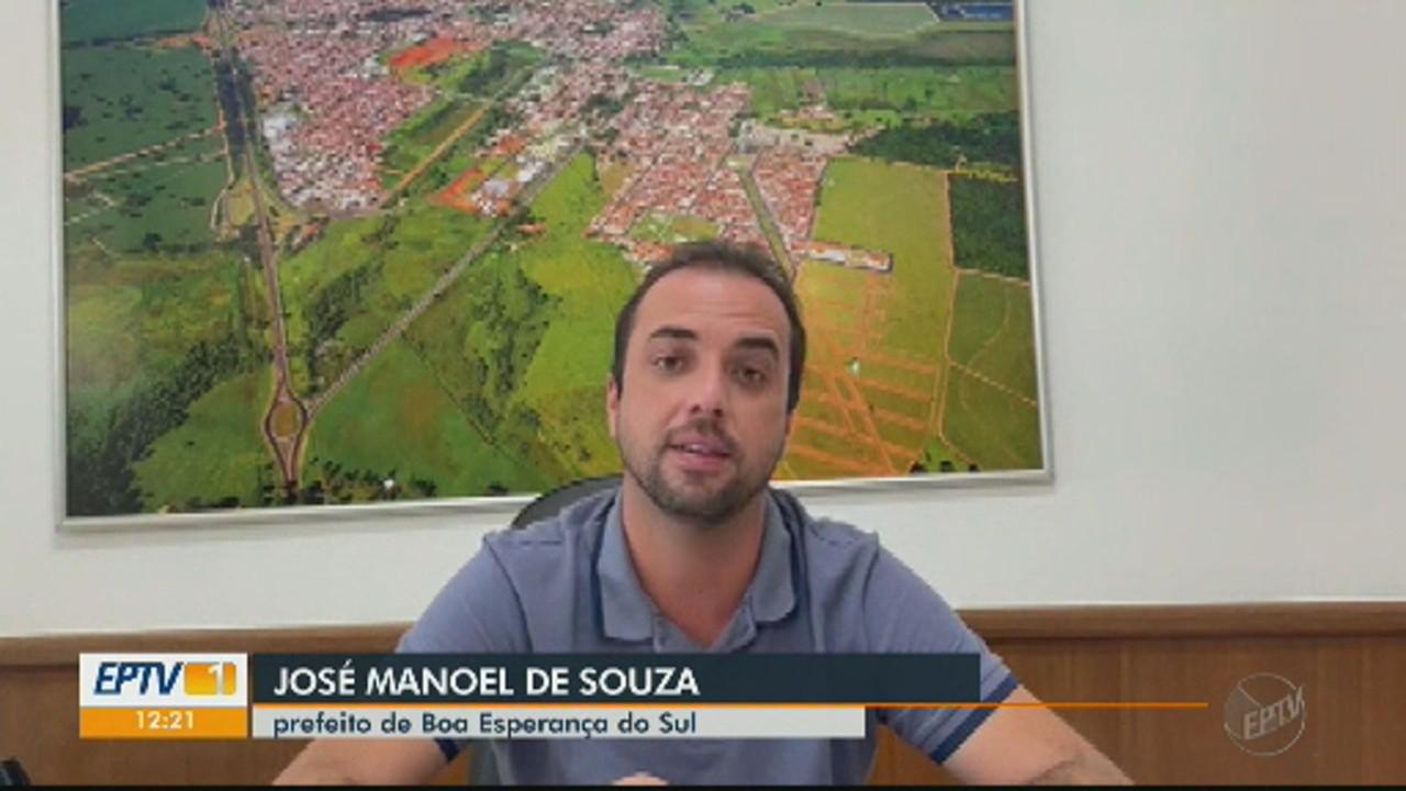 Prefeito de Boa Esperança do Sul fala sobre toque de recolher
