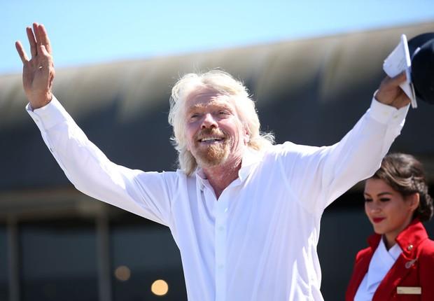 Richard Branson, empresário fundador do grupo Virgin (Foto: Phillip Faraone/Stringer-Getty Images)
