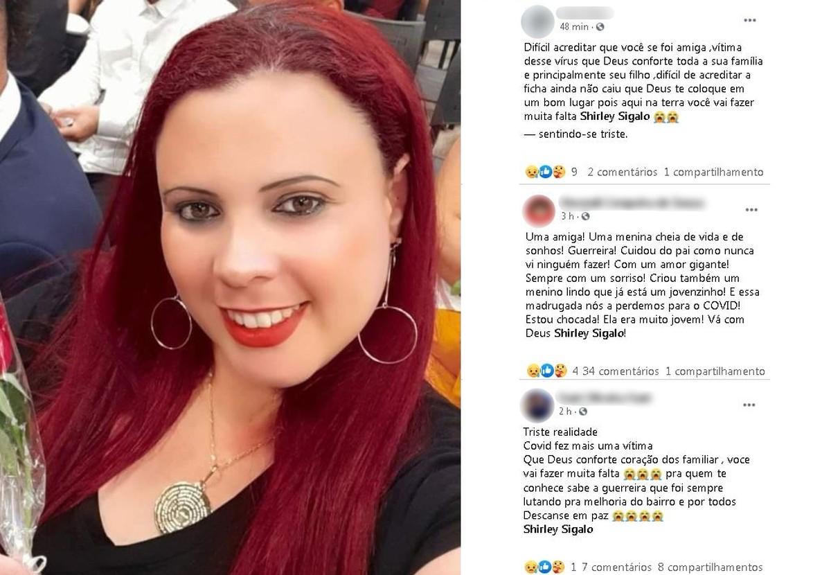 Promotora de vendas que morreu com Covid-19 pediu orações nas redes sociais quatro dias antes