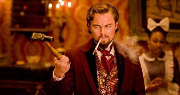 Leonardo DiCaprio em Django Livre (2012) (Foto: Divulgação)