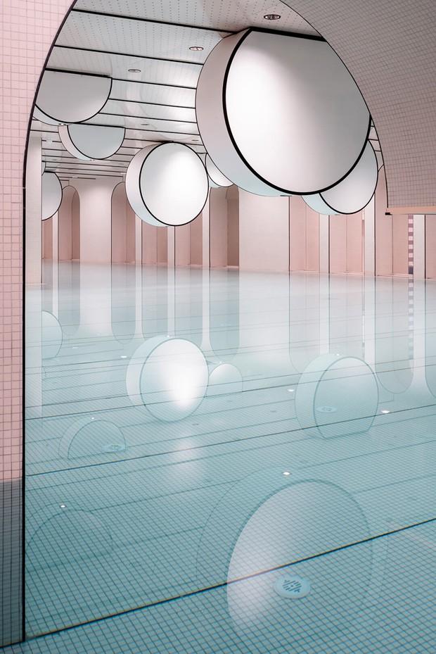 Clube de natação infantil na China tem decoração lúdica impressionante (Foto: Reprodução)
