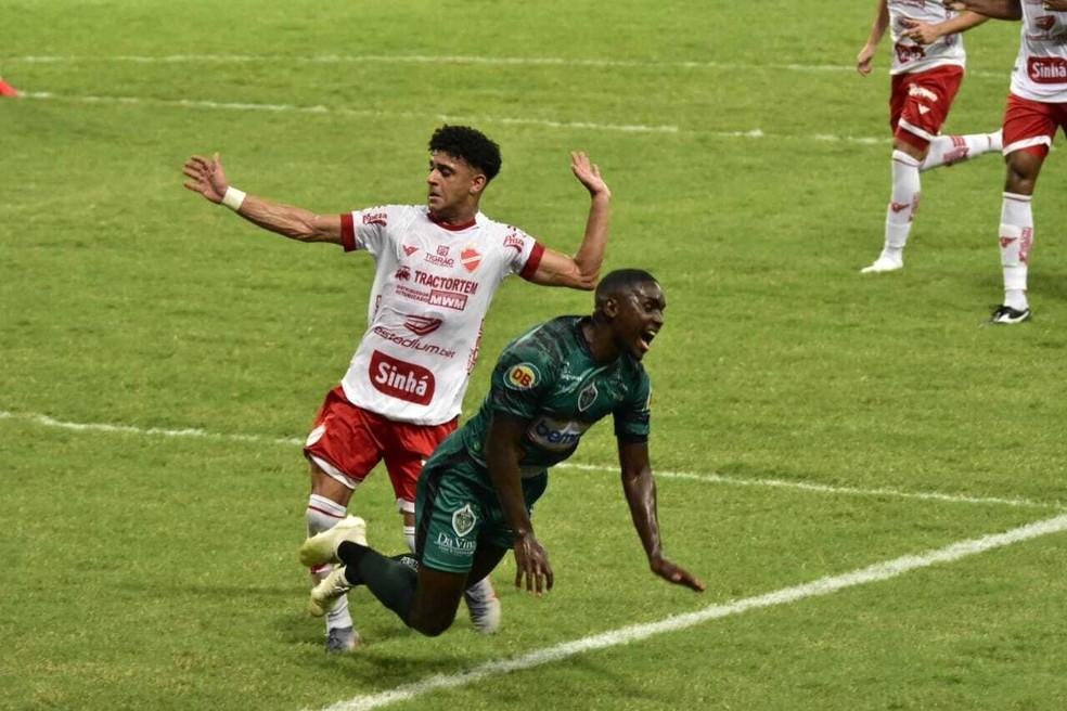 Manaus e Vila empataram em 1 a 1 — Foto: Mauro Neto/Faar