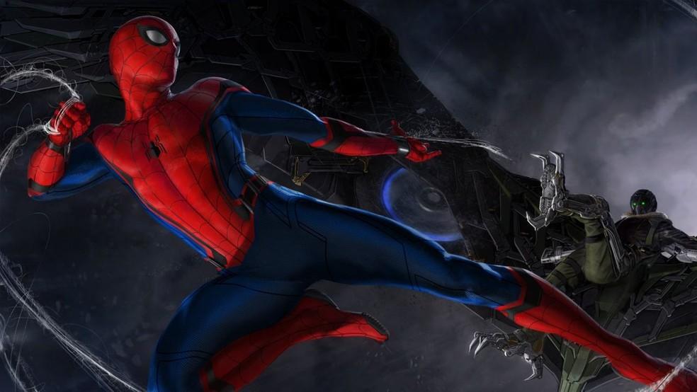 Tom Holland em 'Homem-Aranha: De volta ao lar' (Foto: Divulgação)