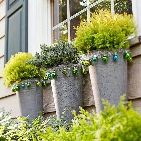 Decoração de Natal para jardim: 8 ideias para se inspirar! (Foto: Reprodução/Pinterest)