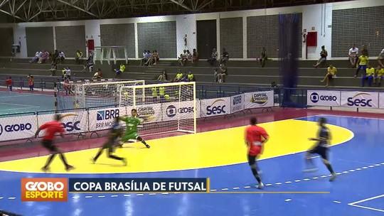 Sobradinho e Taguatinga vencem e garantem vaga na próxima fase da Copa Brasília de Futsal