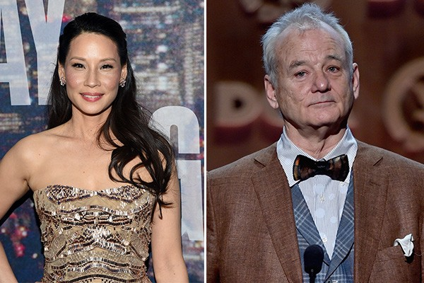 Lucy Liu e Bill Murray (Foto: Getty Images)