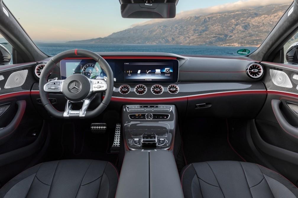 Mercedes-AMG CLS 53 4Matic — Foto: Divulgação/Mercedes-Benz