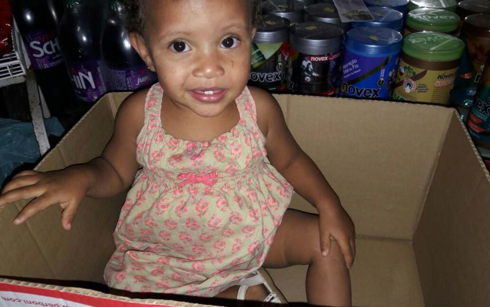 Menina de 1 ano e meio foi encontrada morta após incêndio no DF (Foto: Arquivo pessoal)