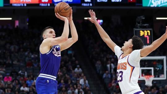 Melhores momentos de Phoenix Suns 116 x 120 Sacramento Kings pela NBA