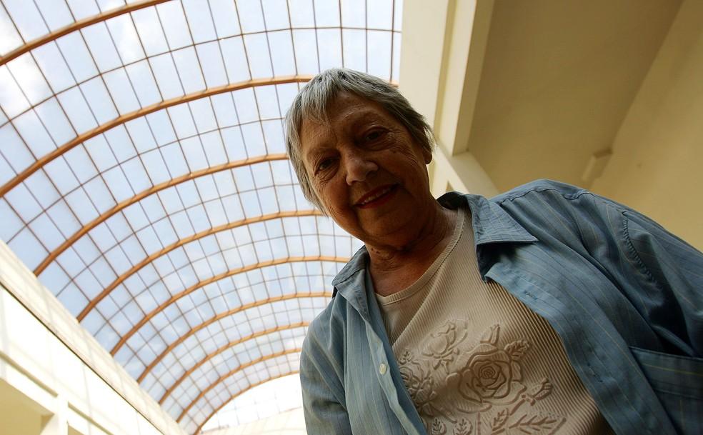 Berta Zemel morreu, em SP, aos 86 anos — Foto: ROBSON FERNANDJES/ESTADÃO CONTEÚDO