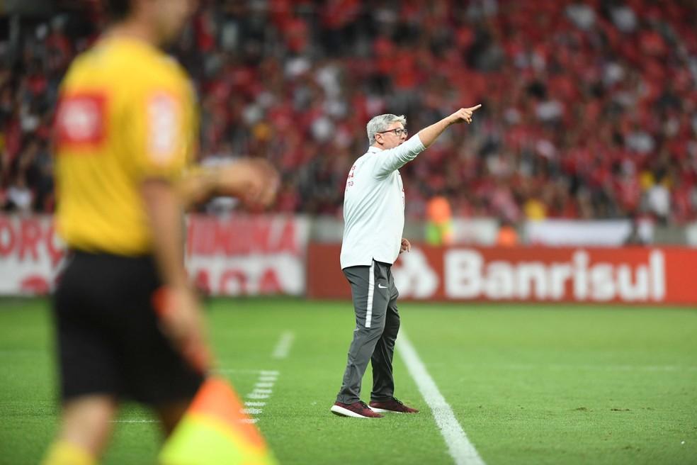Odair Hellmann, técnico do Inter — Foto: Ricardo Duarte / Inter, DVG