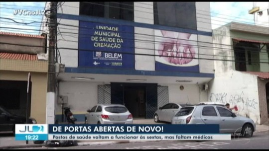 Pacientes reclamam da demora no atendimento e da falta de médicos em unidades de saúde de Belém