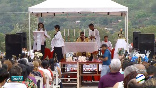 Missa a céu aberto e romaria marcam celebrações à Nossa Senhora de Aparecida em MS