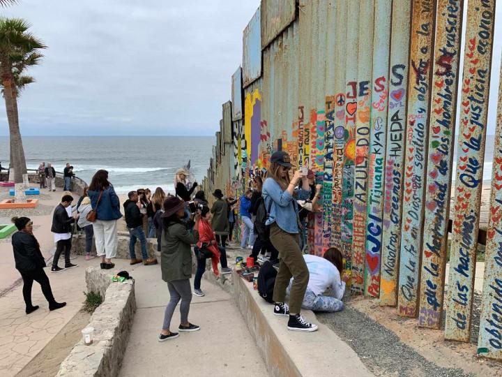 Mural no México (Foto: Reprodução Design Boom)