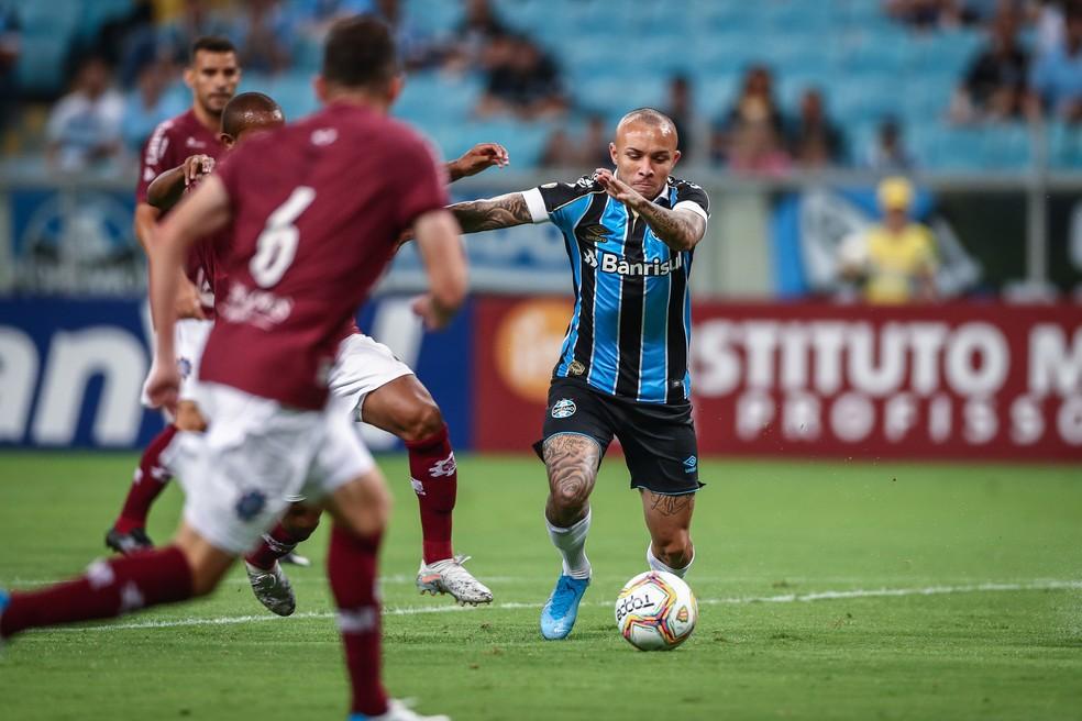 Everton, atacante do Grêmio — Foto: Lucas Uebel/Grêmio